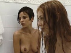 Erotic shower with a pair of hotties movies at freekilosex.com