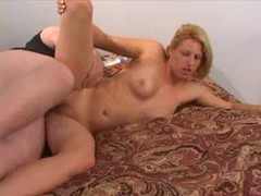 Old man fucks her young pussy and cums on her videos