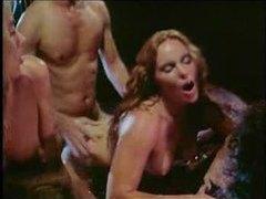Retro bathtub orgy is hot stuff tubes