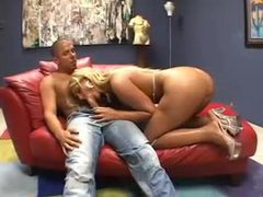 He kisses busty blonde and gets blown movies at find-best-hardcore.com
