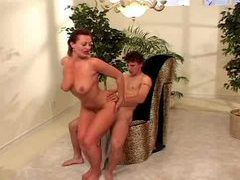 Natural tits milf and her doggy style sex videos