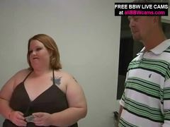 Open pussy bbw fat belly giant tits yells for dick part 1 clip