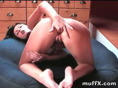 Sensual solo chick masturbates her pussy movies at find-best-ass.com