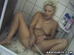 Busty amateur milf toys and sucks with facial cumshot movies at kilosex.com