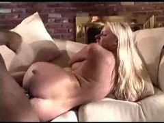 Black cock slowly fucks her white ass videos