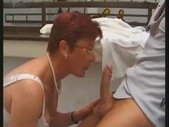 Redhead mature double penetration movies at lingerie-mania.com