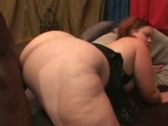 Fucking her bbw cunt and ass with bbc videos