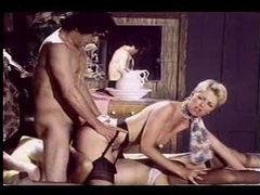 Great retro hardcore threesome scene movies