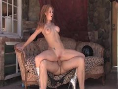 Cowboy fucks a hot slut in silver boots videos