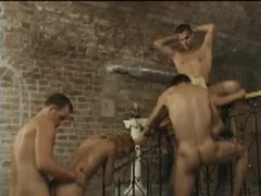 Retro group sex includes anal sex videos