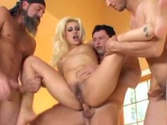 Blonde with wicked hairy pussy used by hard dicks videos