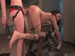 Long bdsm scene with lesbian mistress and sub videos