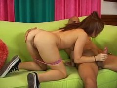 Redhead dani jensen sucks huge cock videos