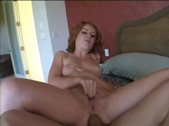 Redhead hardcore sex in the bedroom movies at kilotop.com