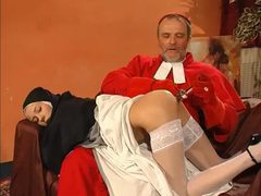 Cardinal and monk have threesome with nun videos