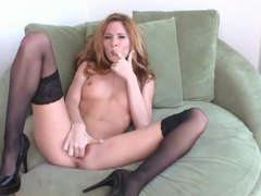 Redhead fingers her sopping wet pussy movies at find-best-videos.com