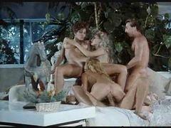 Retro orgy captured on camera tubes