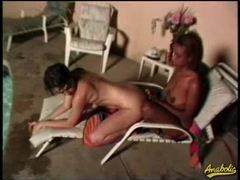 Interracial lesbian sex outdoors videos