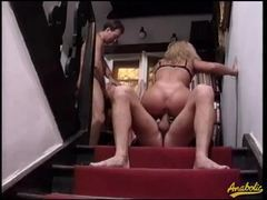 Retro hardcore double penetration and orgy movies at sgirls.net