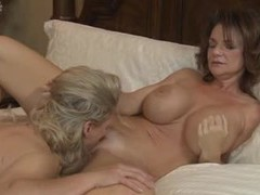 Milfs take turns eating pussy movies at find-best-mature.com