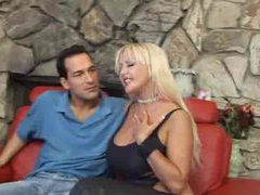 Busty blonde slut in leather sucks dick movies at find-best-hardcore.com