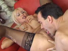 Milf climbs on top of the cock for a ride movies at kilogirls.com