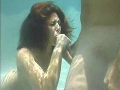 An incredible blowjob under the water videos