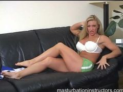 Fun big tits blonde does a sexy tease movies at sgirls.net
