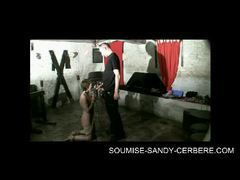 Video-sm-bondage-uro-soumise-sandy-bdsm submissive sandy videos