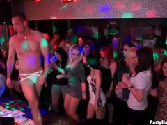 Male strippers entertain sluts at the club videos