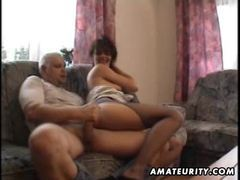 Mature amateur housewife homemade fucking with cumshot movies at kilogirls.com
