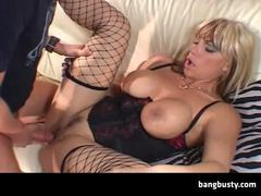 Big titted mature drilled videos