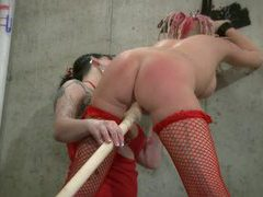 Lezdom domination and spanking videos