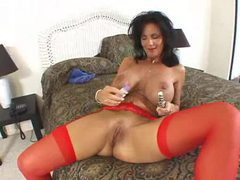 Deauxma anally toys and sucks his cock videos