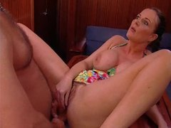 Fun fucking of her hot holes on a boat videos