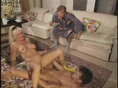 An 80s porn with a hot orgy movies at sgirls.net
