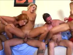Natural breasts europeans fucked in fivesome videos