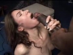 Horny amateur chomping on the big black cock movies at freelingerie.us