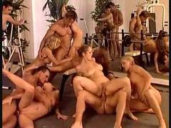 An orgy stuffed with gorgeous euro girls movies at sgirls.net