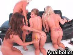 Super horny lesbian gangbang with carrie ann, velicity von, nikita von james, raquel devine, rachel love videos