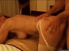 Man makes love to a gorgeous blonde escort movies at sgirls.net
