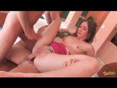 Young dakoda brooks aggressive threesome with two dudes movies at kilopics.net