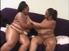 Two fat black girls rub titties videos