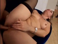 Cute milf babe with a lust for anal gets it hard tubes