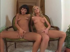 Erotic lingerie girls fool around and masturbate movies at find-best-lesbians.com