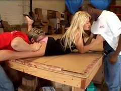 Warehouse workers fuck this hot bitch movies at sgirls.net