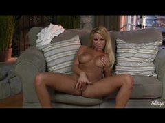 Busty blonde centerfold nicole graves masturbates movies at find-best-panties.com