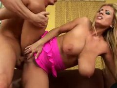 Milf with big sexy natural titties fucking hard videos
