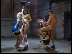Naughty latex nurse hardcore group sex videos