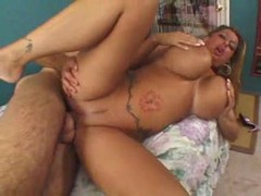 The milf slut with the gigantic fake titties tubes